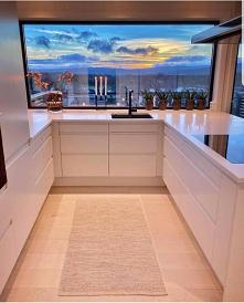 #panorama #kuchnia #okno