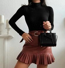 #spodnica #skora