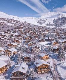 Szwajcaria, Verbier #szwajcaria #zima #snieg