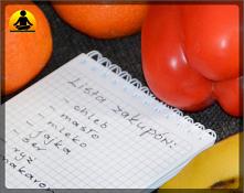 Lista zakupów spożywczych