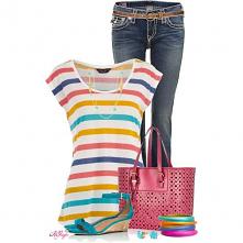 #jeansy #koszulka