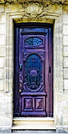 Purple Door,Blaye, Gironde,...