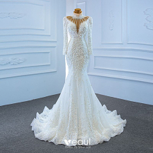 Luksusowe Białe Przezroczys...