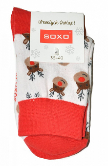 Soxo 3155 Christmas skarpety damskie