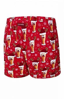 Cornette 016/13 Beer Merry Christmas bokserki