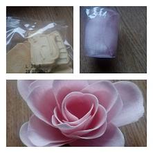 6 grudnia W kalendarzu z jedzeniem były ciasteczka orkiszowe w kosmetycznym róża z płatków mydlanych #kalendarz #adwentowy