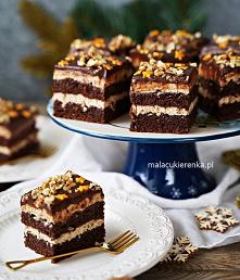 Ciasto ORZESZEK w czekoladz...