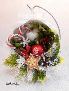 Dekoracja świąteczna, rękodzieło. Nowość!