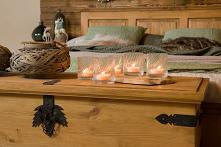 Drewniana skrzynia w stylu rustykalnym. #drewno #rustykalny #meble #design #inspiracja #christmas #sypialnia #aranżacja #święta #skrzynia #meblewoskowane