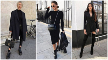 Total black look na zimę – ...