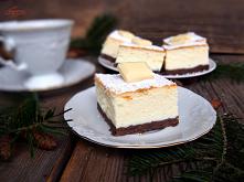 Sernik z białą czekolada
