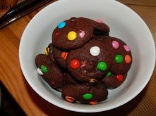 Ciasteczka czekoladowe z ko...