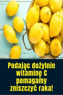 Podając dożylnie witaminę C...