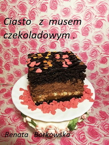 Ciasto   z  musem   czekola...