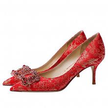 Elegancka Czerwone Jedwab R...