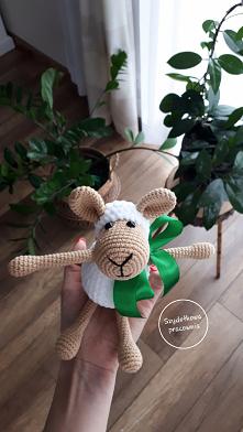 hand made - owieczka z włóc...