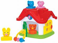 Czy wiesz do czego możesz wykorzystywać edukacyjny domek wader przy zabawie z dzieckiem? Na przykład do uczenia dziecka wyglądu zwierzątek czy kształtów geometrycznych.
