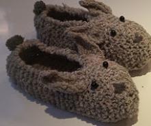 kapcie na drutach króliczki