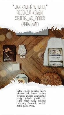 Recenzja książki zapraszamy na sisters as books Instagram