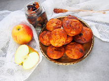 babeczki jaglane z jabłkiem...