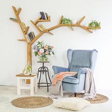 Półka w kształcie drzewa i ...
