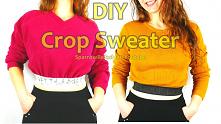 jak przerobić stary sweter ...