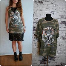 sukienka z T-shirta diy