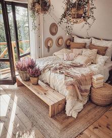 #sypialnia #wiejskistyl #dom