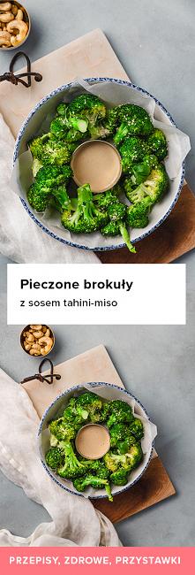 Przepis na pieczone brokuły...