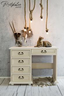 Dziecięce biurko drewniane ...