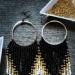 10cm kolczyki stworzone z koralików #kolczyki #kolczykidiy