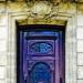 Purple Door,Blaye, Gironde,...