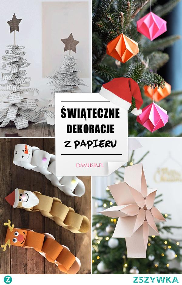 Świąteczne Dekoracje z Papieru – Najlepsze Propozycje na Świąteczne DIY