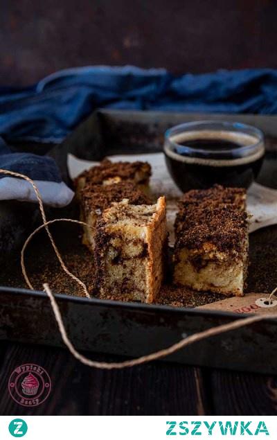 Ciasto z cynamonowym wierzchem - Najlepsze przepisy | Blog kulinarny - Wypieki Beaty