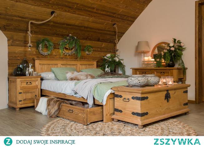 woskowane meble do sypialni inspiracje meble-woskowane.com.pl