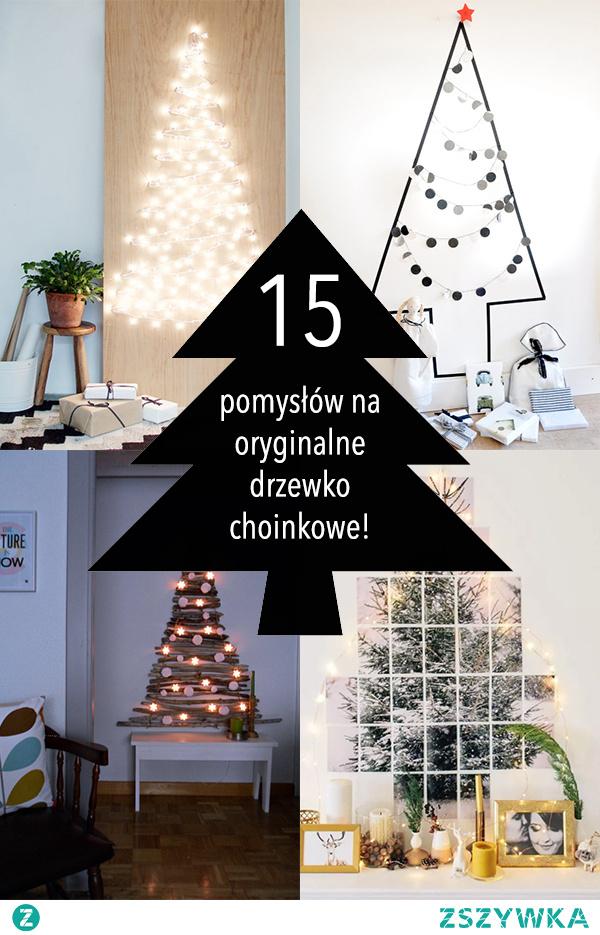 Alternatywna choinka: 15 pomysłów na oryginalne drzewko choinkowe!