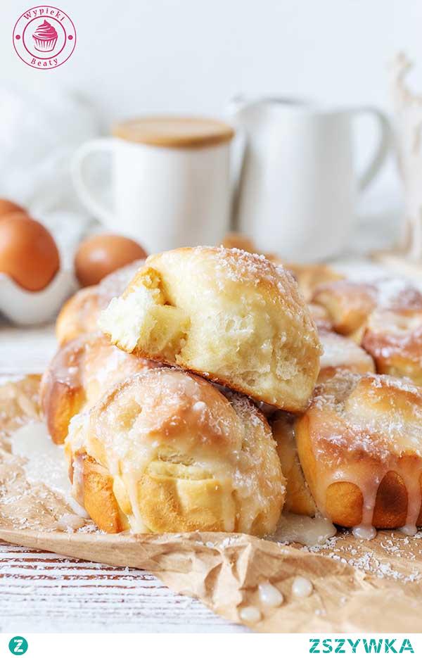 Bułeczki z kremem kokosowym - Najlepsze przepisy | Blog kulinarny - Wypieki Beaty