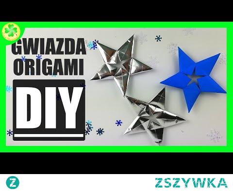 Jak złożyć Pięcioramienną Gwiazdę Origami (wersja modularna) [DIY Tutorial]