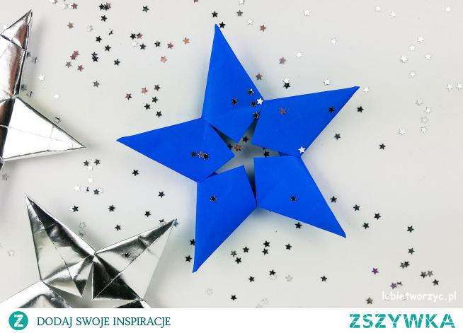 Tutorial ukazujący sposób wykonania ślicznej gwiazdki modularnej origami ;)