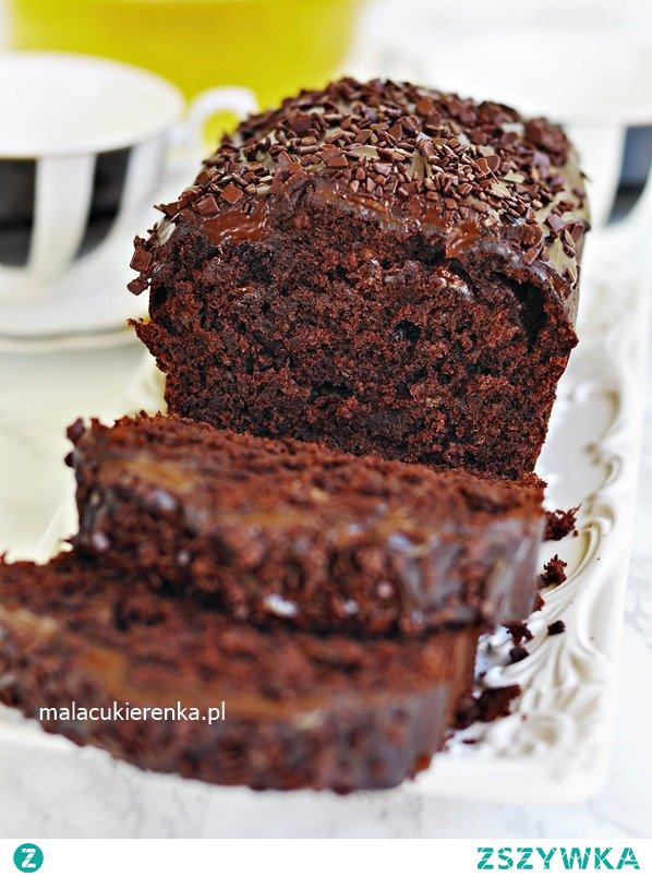 #Ciasto czekoladowe z bananami, #brownie