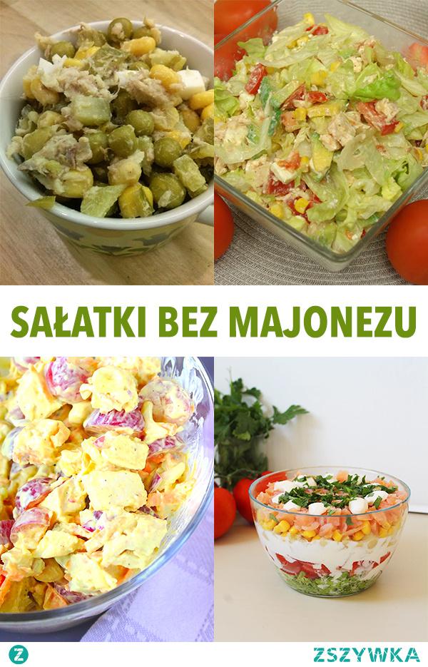 Pyszne sałatki bez majonezu. 12 przepisów, które musisz wypróbować