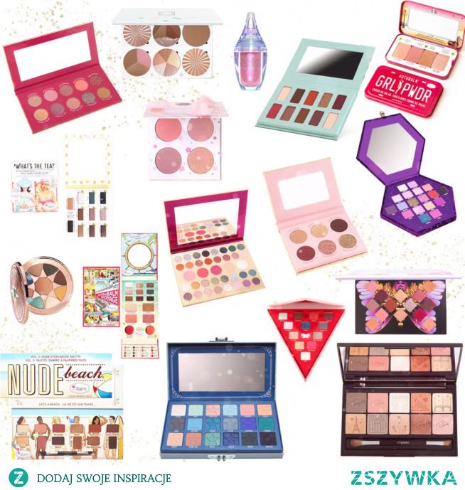 Piękne kosmetyki na prezent dla nastolatki i dorosłej kobiety - palety cieni