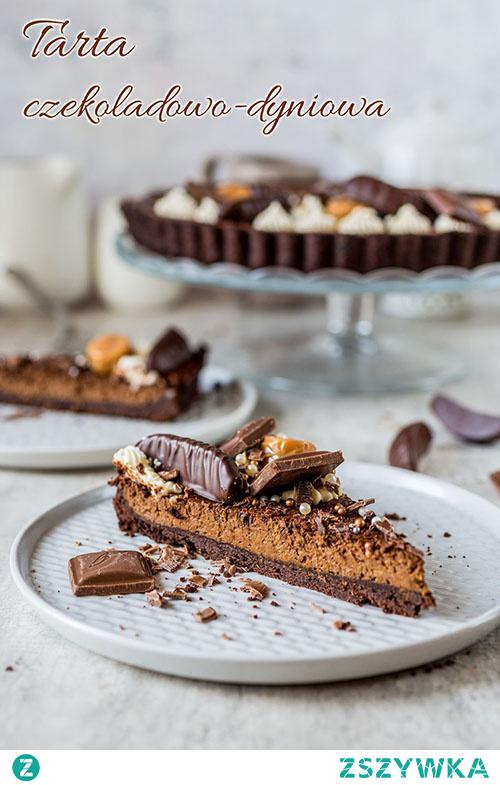Tarta czekoladowo-dyniowa - Wypieki Beaty