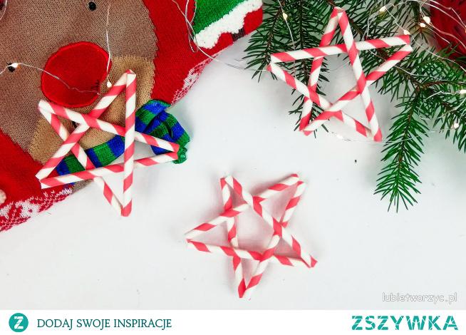 Tutorial ukazujący sposób wykonania gwiazdy z papierowych słomek ;)