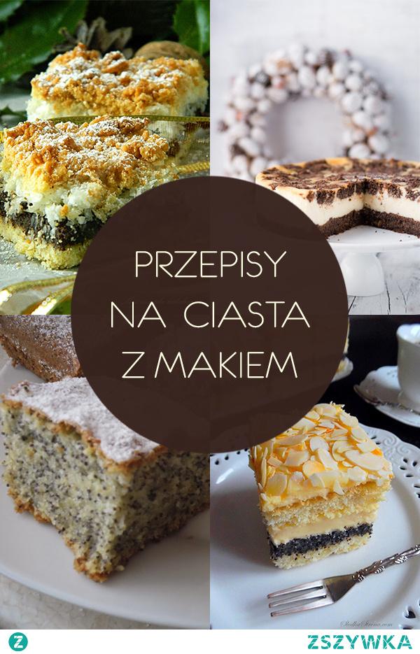 10 pysznych przepisów na ciasta z makiem