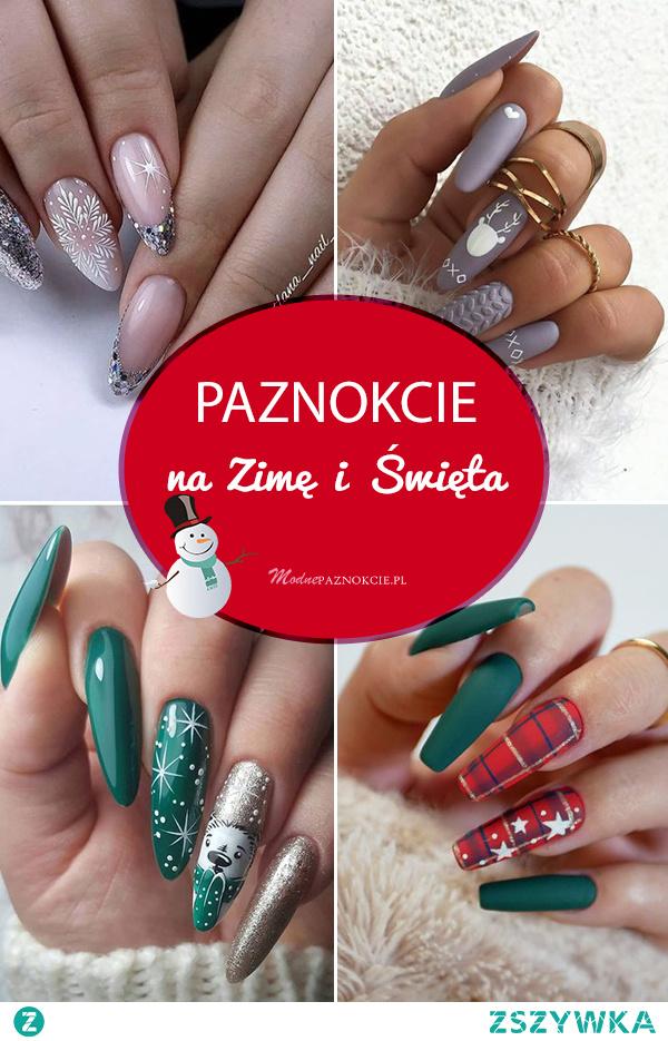 Zjawiskowy Manicure na Zimę i Święta – Najmodniejsze Inspiracje z Sieci!