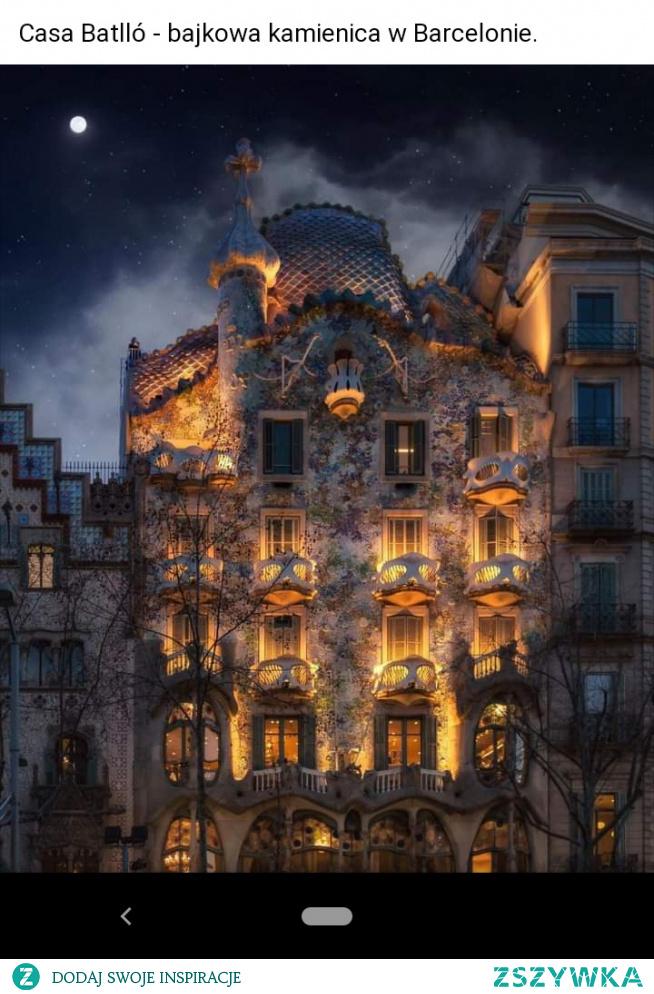 #CasaBatilo #Barcelona #bajkowakamienica