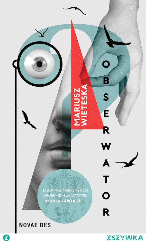 """O książce Mariusza Wieteski pod tytułem """"Obserwator"""" napisać można bardzo wiele. Ale na pewno nie to, że jest nudna. Jest to nieszablonowy, surrealistyczny kryminał, w którym główną rolę odgrywa powracający do służby po długiej rekonwalescencji policjant, Joa. Trafia on do małego, nadreńskiego miasteczka, aby rozwikłać niespotykaną i zagmatwaną dla tamtejszych stróżów prawa zagadkę podwójnego morderstwa – właścicielki szpitala oraz jej konia. Książka jest lekturą niezwykłą, sama jej budowa i zastosowana narracja są niespotykane."""