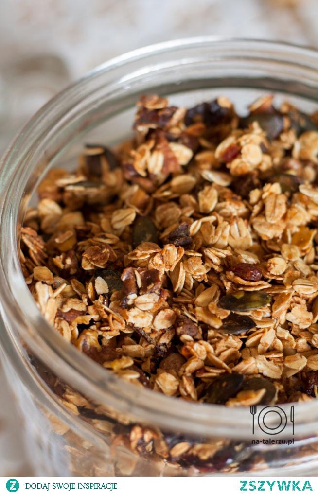 Domowa granola - prosty przepis