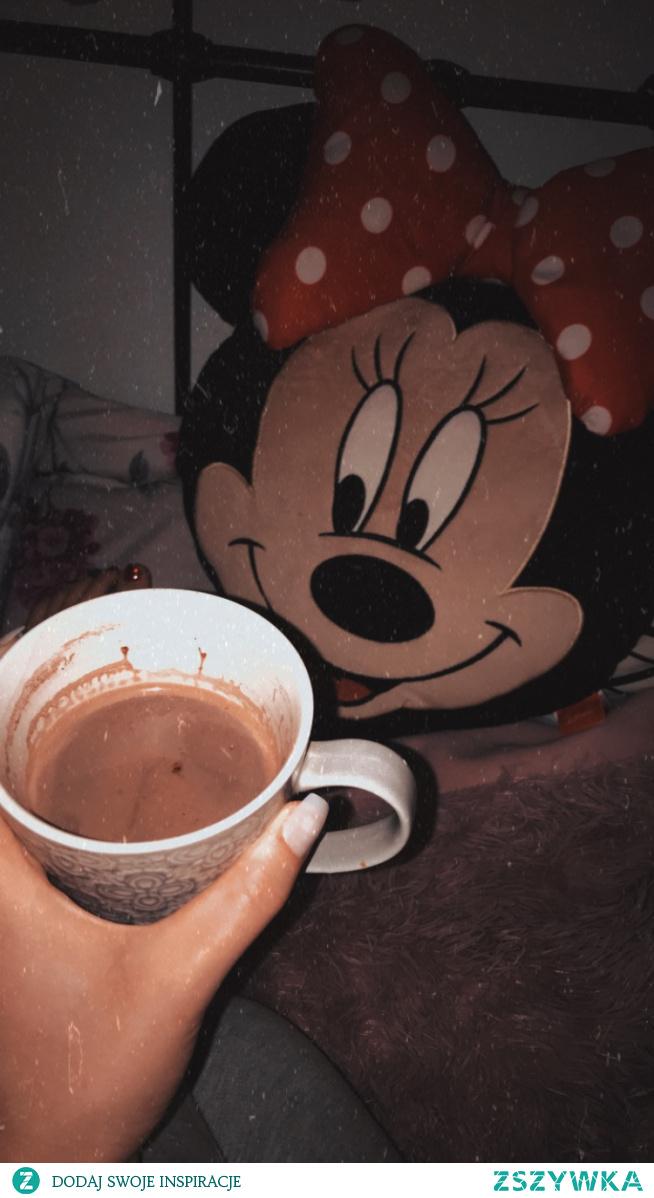W takie zimne wieczory tylko gorące kakao ☕️